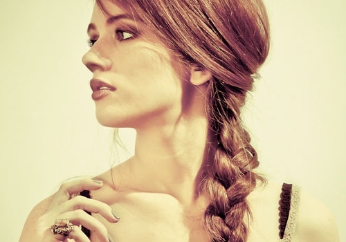 32 Delicate Hairstyles With Braids   Creativefan In 2018 Braided Vintage Hairstyles (View 6 of 15)