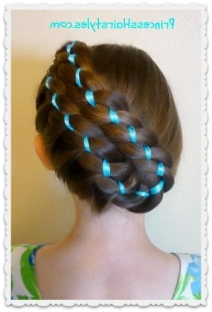33 Best Four Strand Braids Images On Pinterest | Hair Dos, Braid For Recent Easter Braid Hairstyles (View 2 of 15)