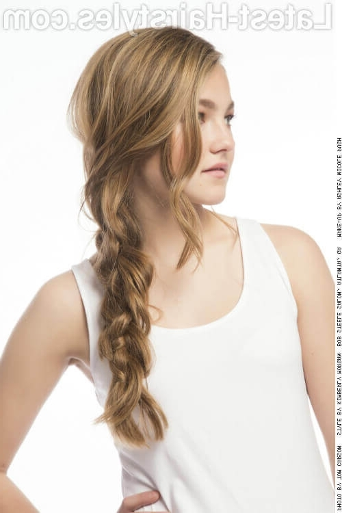 35 Foolproof Long Hairstyles For Round Faces You Gotta See Regarding Current Braided Layered Hairstyles (View 7 of 15)