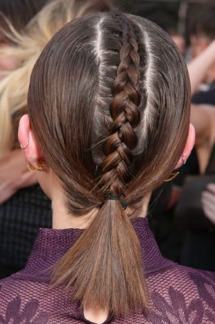 35 Gorgeous Prom Updos For The Biggest Night Of The Year Intended For Most Current Braided Running Hairstyles (View 12 of 15)