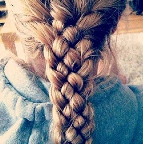 35 Long Hair Braids Styles | Hairstyles & Haircuts 2016 – 2017 Pertaining To Most Recently Triple Braid Hairstyles (View 13 of 15)