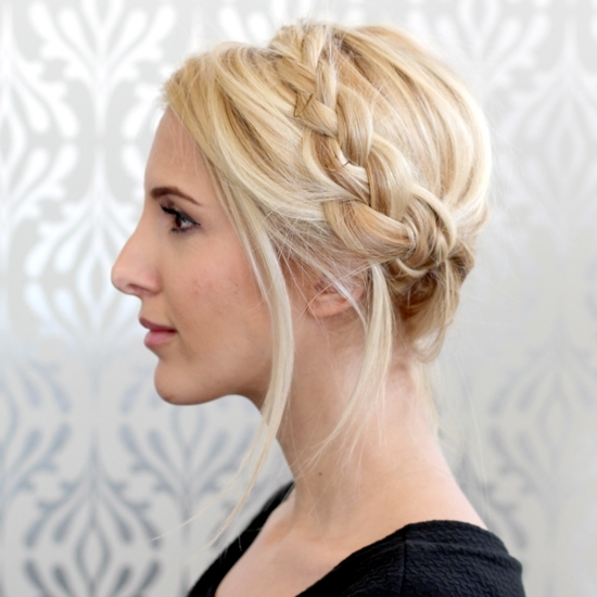 35 Super Cute And Easy Hairstyles For Long Haired Ladies Intended For Best And Newest Crimped Crown Braids (View 13 of 15)