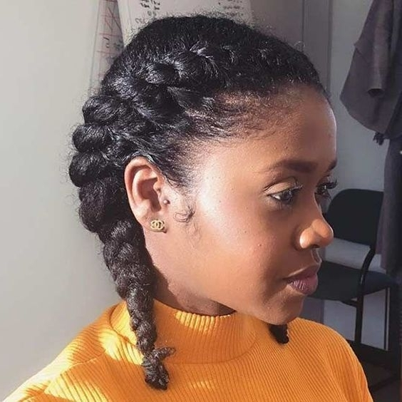35 Two French Braids Hairstyles To Double Your Style For Most Recent Two French Braid Hairstyles With Flower (View 6 of 15)