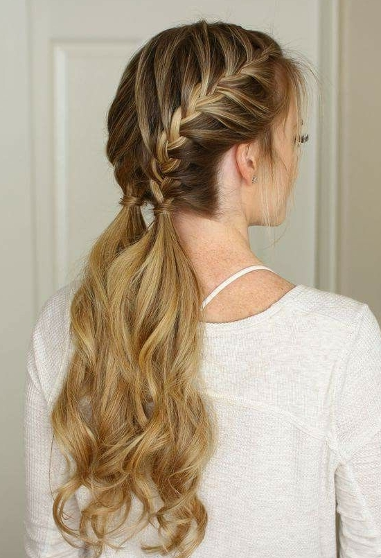 35 Two French Braids Hairstyles To Double Your Style In Current Simple French Braids For Long Hair (View 9 of 15)