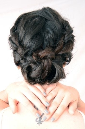 35 Two French Braids Hairstyles To Double Your Style Intended For Current Braided Bun With Two French Braids (View 6 of 15)