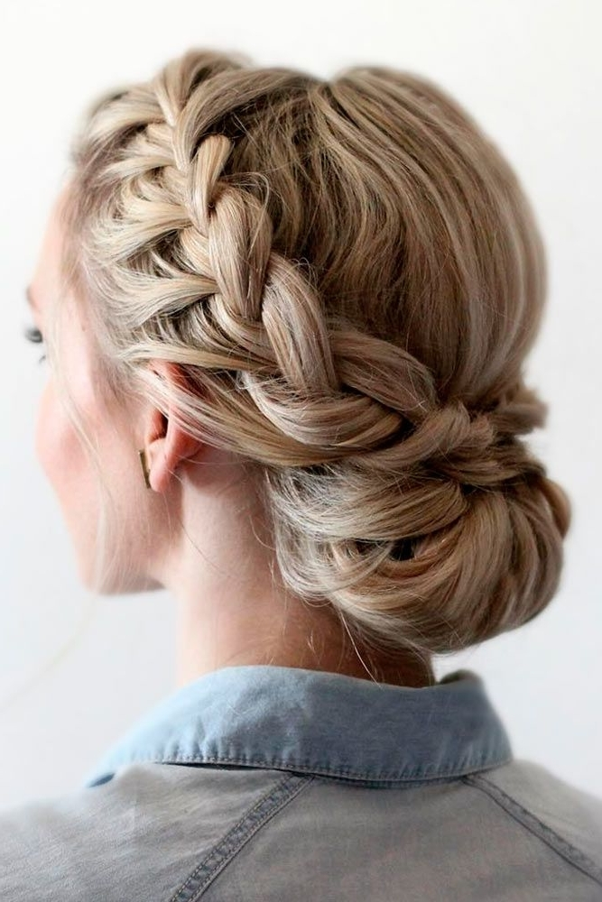 36 Amazing Graduation Hairstyles For Your Special Day | Braid In Latest Braided Graduation Hairstyles (View 5 of 15)