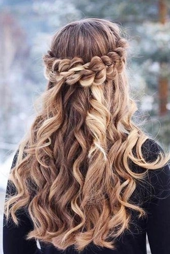 36 Amazing Graduation Hairstyles For Your Special Day | Pinterest Regarding Most Current Braided Graduation Hairstyles (View 7 of 15)