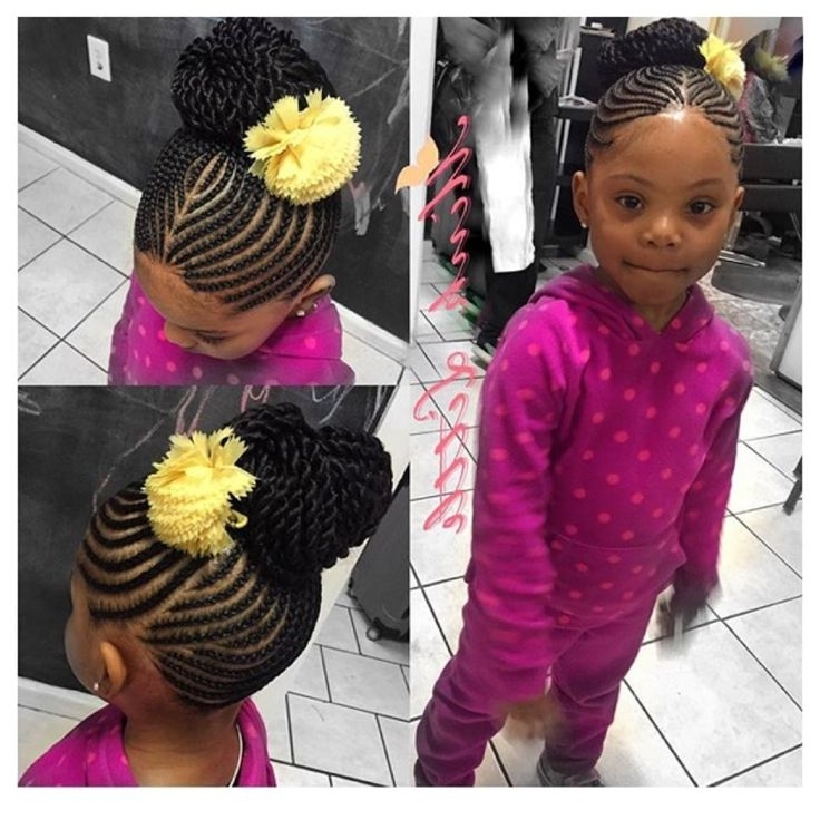36 Best Black Lil Girl Styles Images On Pinterest Child Hairstyles Within Most Popular Braided Hairstyles For Little Girl (View 13 of 15)