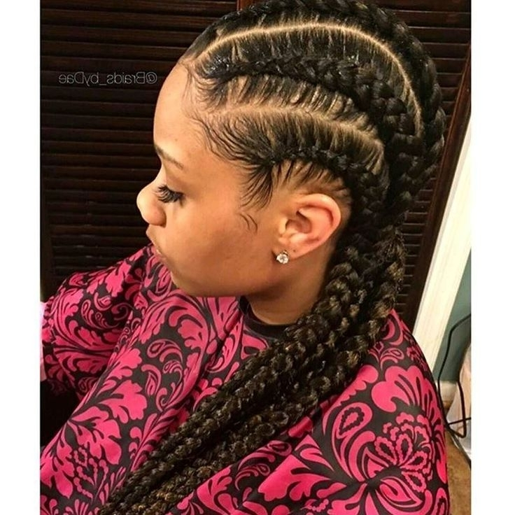 36 Best Hair Images On Pinterest | Hairstyle Ideas, African Braids Inside Most Current Minimalistic Fulani Braids With Geometric Crown (View 1 of 15)