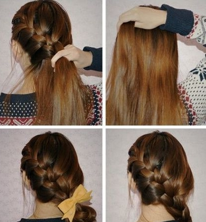 36 Best Korean Braid Images On Pinterest | Hair Ideas, Hairstyle In Most Up To Date Korean Braided Hairstyles (View 12 of 15)
