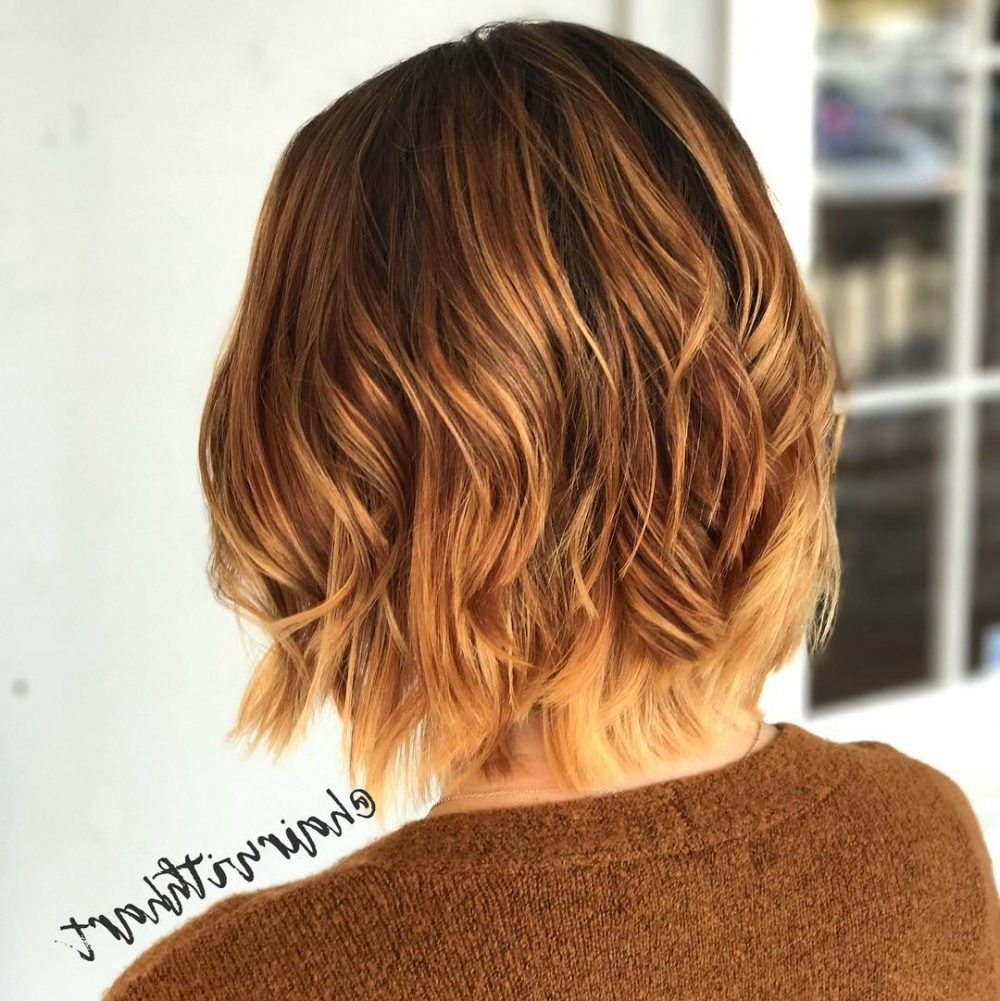 36 Best Short Ombre Hair Ideas Of 2018 For Recent Brunette Pixie With Feathered Layers (View 6 of 15)
