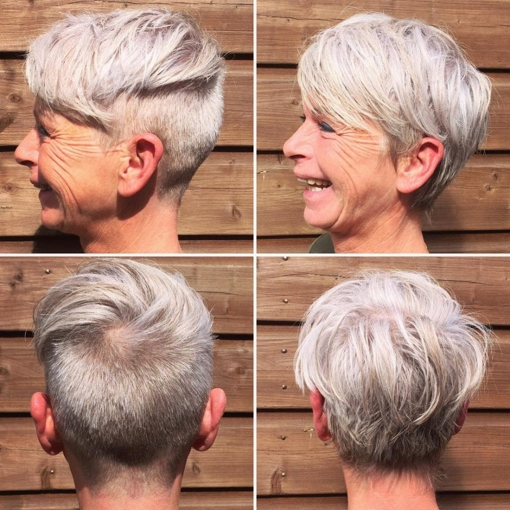 39 Classiest Short Hairstyles For Women Over 50 Of 2018 For Newest Tousled Pixie With Undercut (View 7 of 15)