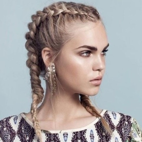 Featured Photo of Fiercely Braided Hairstyles