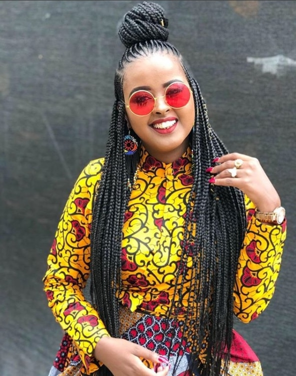 4 Kenyan Female Celebs Who Look Amazing In Braids (Photos) – Beauty With Latest Braided Hairstyles For Kenyan Ladies (View 6 of 15)