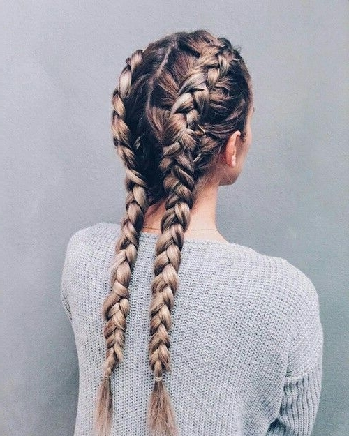 40 Adorable Braided Hairstyles You Will Love | Dutch Braids, Boxer Throughout Recent Intricate Boxer Braids Hairstyles (View 10 of 15)