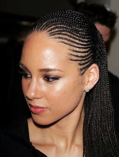 40 Different Types Of Braids For Hairstyle Junkies And Gurus Within Most Up To Date Thin Cornrows Hairstyles (View 6 of 15)