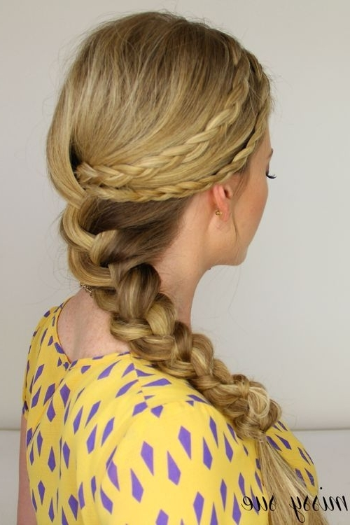 40 Flirty And Fantastic Two French Braid Hairstyles – Page 29 Throughout Best And Newest Chunky Two French Braid Hairstyles (View 4 of 15)