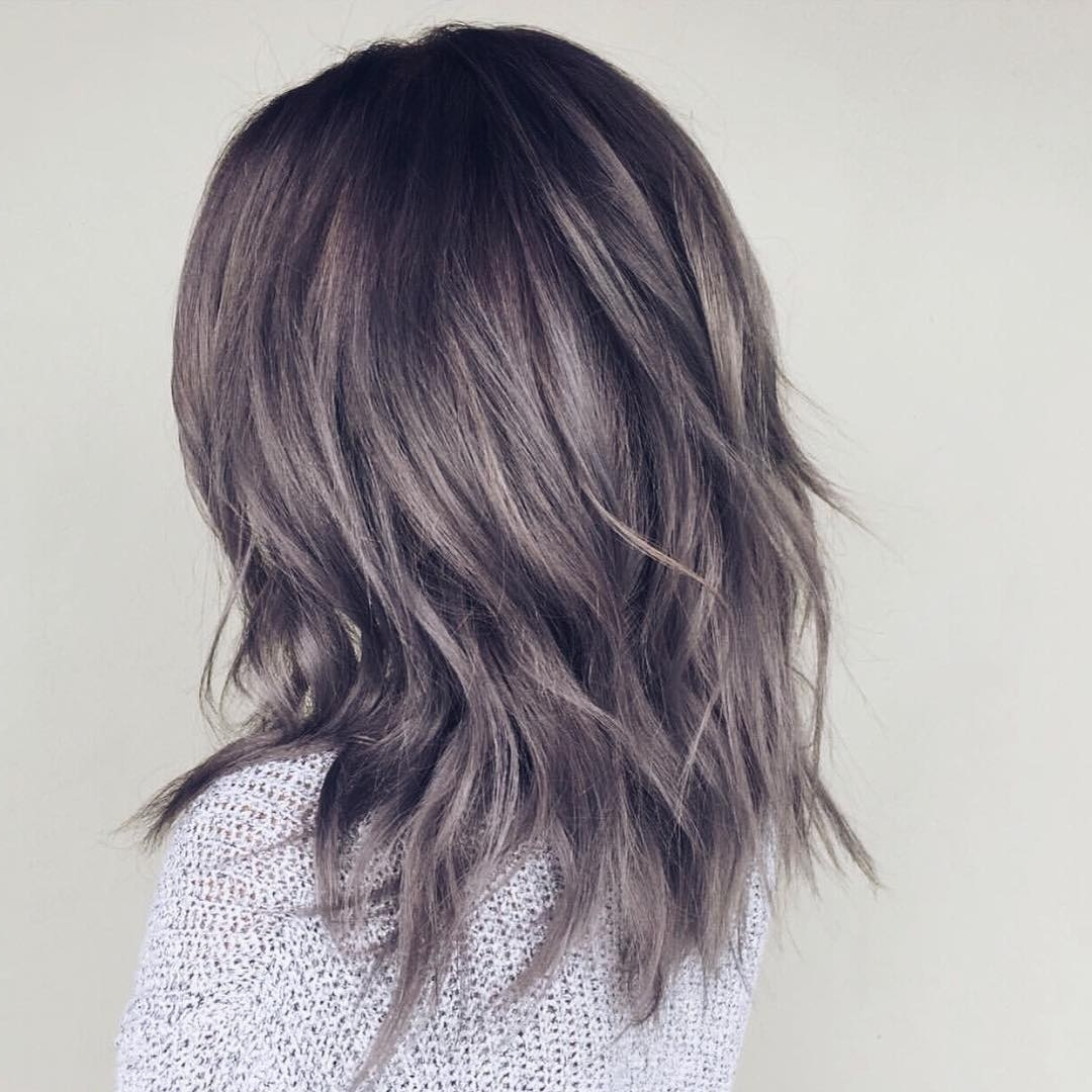 Explore Gallery Of Reverse Gray Ombre For Short Hair Showing 11 Of