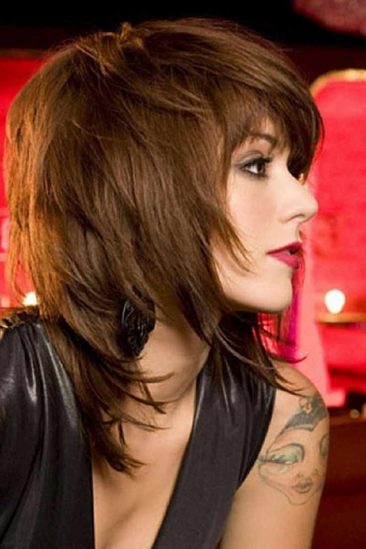 40 Ravishing Short Shag Haircuts For Women [2018] With Regard To Most Current Brunette Pixie With Feathered Layers (View 14 of 15)