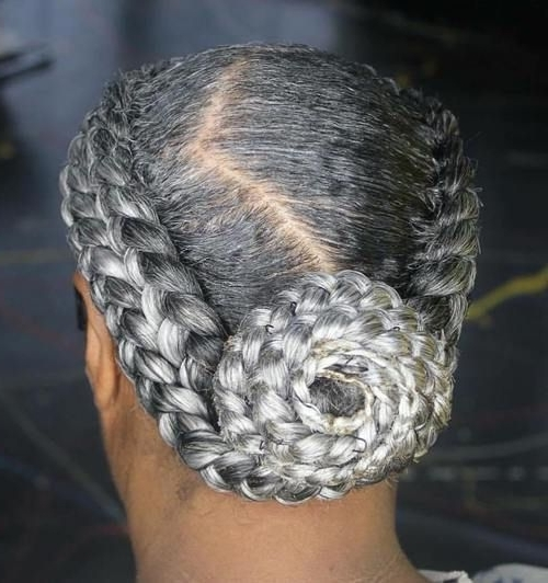 Featured Photo of Braided Hairstyles For Older Ladies