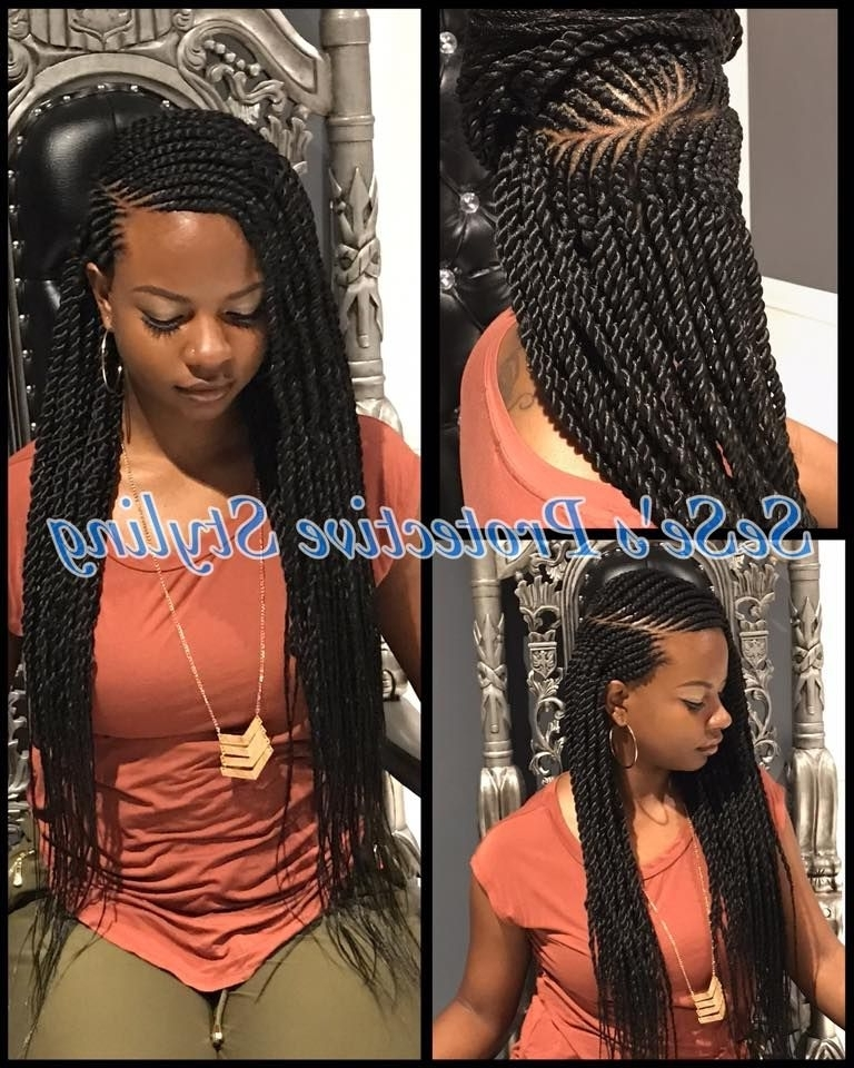 Featured Photo of Ghana Braids Hairstyles