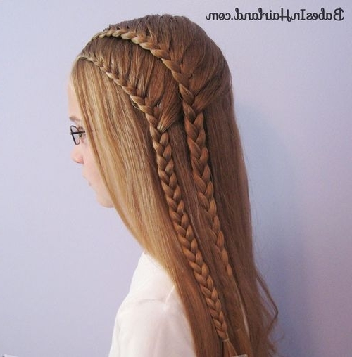 40 Two French Braid Hairstyles For Your Perfect Looks Intended For Most Up To Date Ponytail Braids With Quirky Hair Accessory (View 6 of 15)