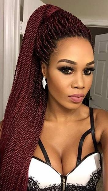 41 Beautiful Micro Braids Hairstyles | Stayglam In Most Popular Braided Rasta Hairstyles (View 3 of 15)