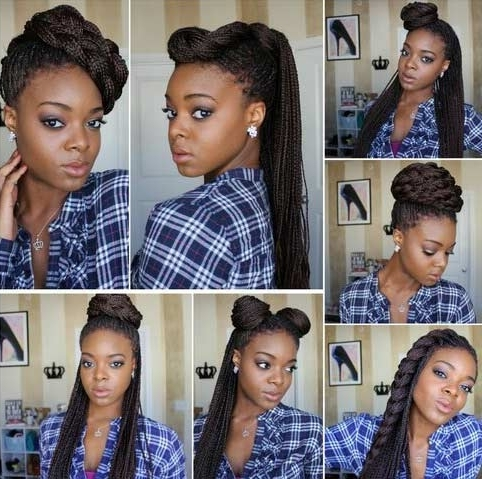 41 Beautiful Micro Braids Hairstyles | Stayglam With Regard To Best And Newest Braided Rasta Hairstyles (View 14 of 15)