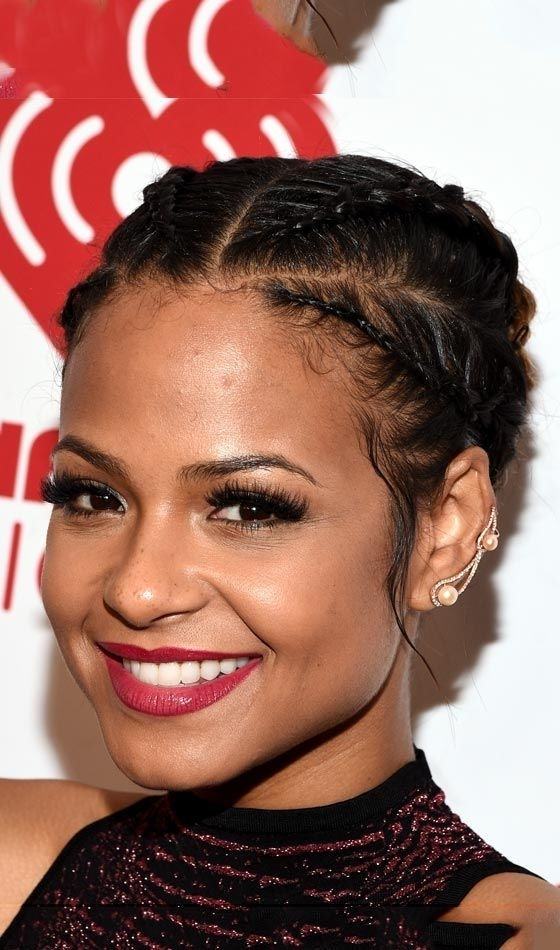 41 Cute And Chic Cornrow Braids Hairstyles | Natural Hairstyles In Most Current Elegant Cornrows Hairstyles (View 7 of 15)