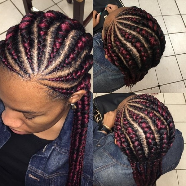 45 Sexy Senegalese Twist Hairstyles – Bun & Braids With Latest Cornrows With A Twist (View 15 of 15)