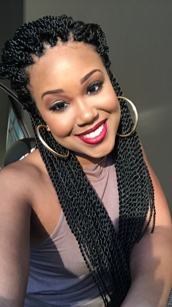 48 Crochet Braids Hairstyles | Crochet Braids Inspiration Intended For Most Up To Date Braided Hairstyles With Crochet (View 8 of 15)