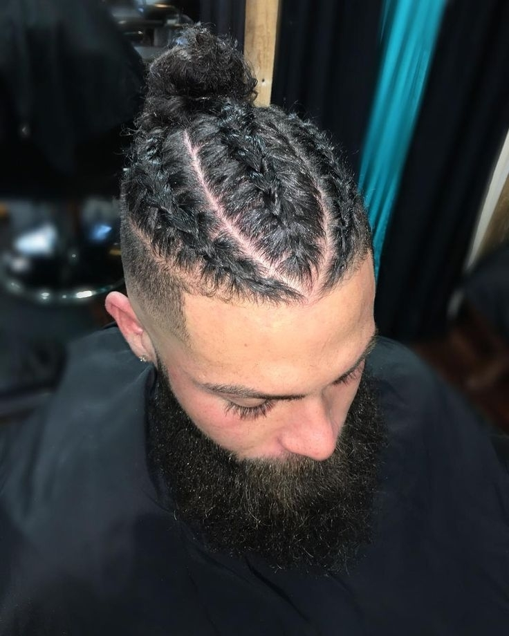 49 Cool New Hairstyles For Men 2017 | Mens Hairstyles | Pinterest Pertaining To Recent Braided Hairstyles For Man Bun (View 3 of 15)