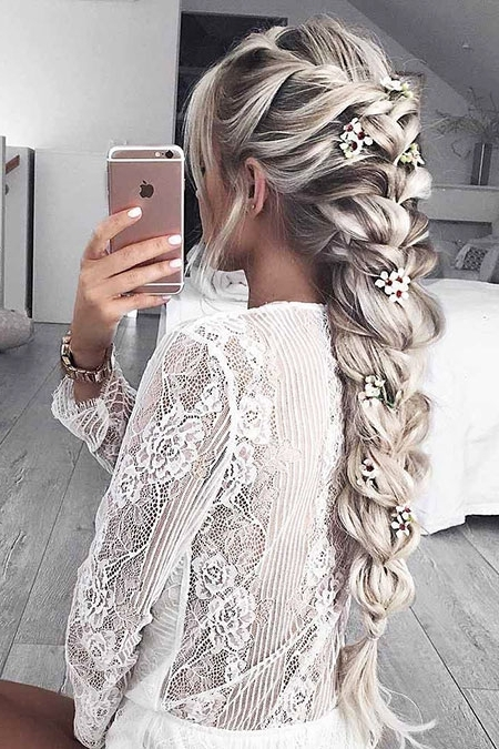 49 Long Blonde Braid Hairstyles – Blonde Hairstyles 2017 Pertaining To Most Recently Blonde Braided Hairstyles (View 13 of 15)