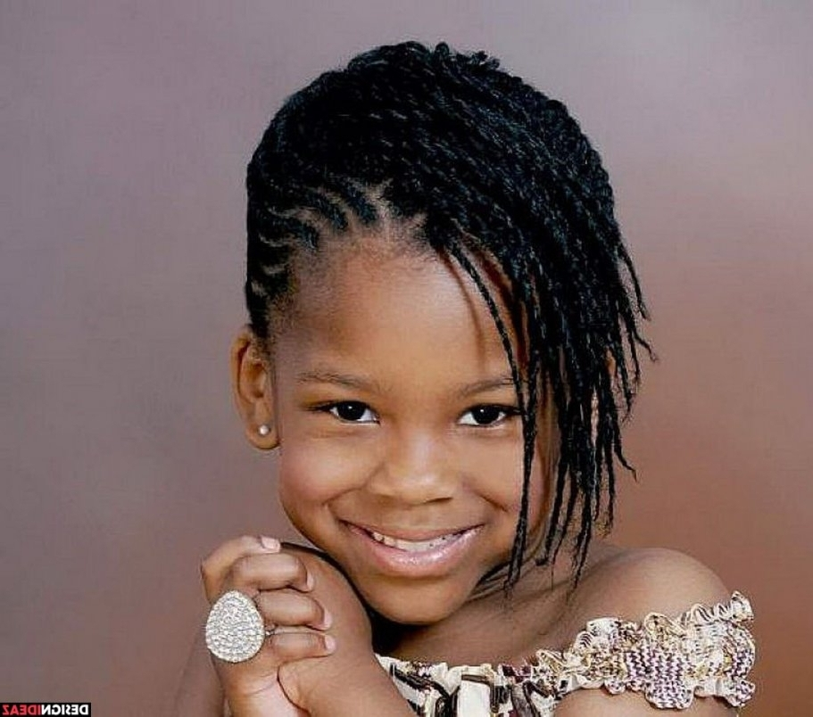 5 Cute Black Braided Hairstyles For Little Girls Within Jamaican In Most Current Jamaican Braided Hairstyles (View 11 of 15)