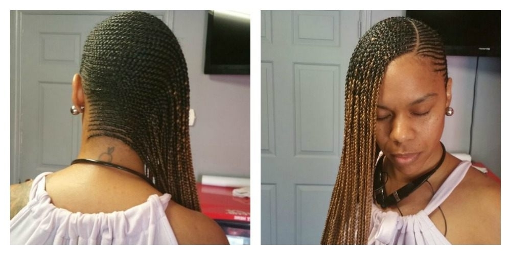 5 Cute Images Of The Newest Hairstyle In Nairobi: The Beyonce Hairstyl Intended For Best And Newest Beyonce Cornrows Hairstyles (View 5 of 15)