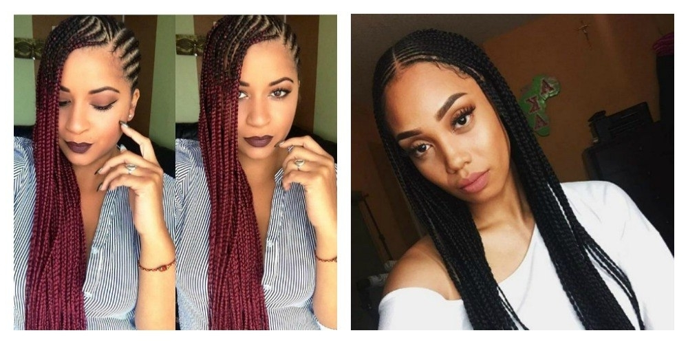 5 Cute Images Of The Newest Hairstyle In Nairobi: The Beyonce Hairstyl Pertaining To 2018 Kenyan Cornrows Hairstyles (View 13 of 15)