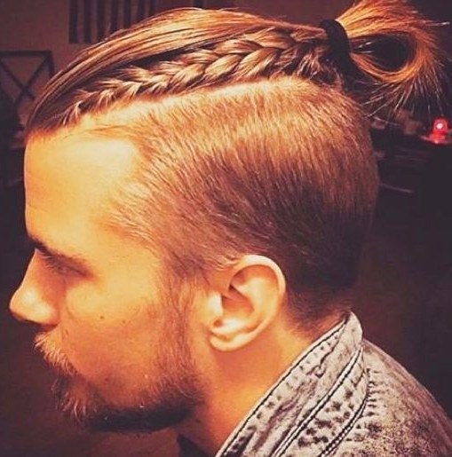 5 Man Bun Undercut Hairstyle Ideas For Long Hair – Best Hairstyles Intended For Recent Braided Hairstyles With Undercut (View 14 of 15)