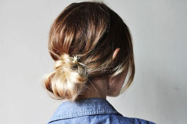 5 Quick And Easy Low Bun Hairstyles For A Busy Morning – Vpfashion Inside Recent Casual Bun With Highlights (View 10 of 15)