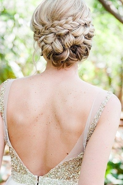 5 Summer Wedding Hairstyles To Rip From The Runway | Hairstyles Even With Most Up To Date Braided Updo Hairstyles For Weddings (View 2 of 15)