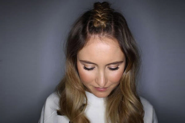 5 Ways To Try The Parting Braid Hairstyle | Latest Hairstyles Regarding Best And Newest Middle Part Braided Hairstyles (View 4 of 15)