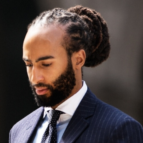 50 Awesome Hairstyles For Black Men – Men Hairstyles World For Latest Braid Hairstyles For Receding Hairlines (View 9 of 15)