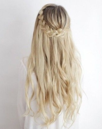 50 Best Hairstyles For Every Occasion | Pinterest | Blonde Braids Intended For Most Up To Date Braids And Waves For Any Occasion (View 4 of 15)
