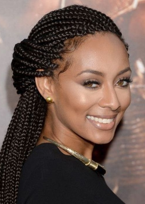 50 Best Natural Hairstyles For Black Women – Hairstyle Insider Pertaining To Most Recently Kenyan Braided Hairstyles (View 13 of 15)