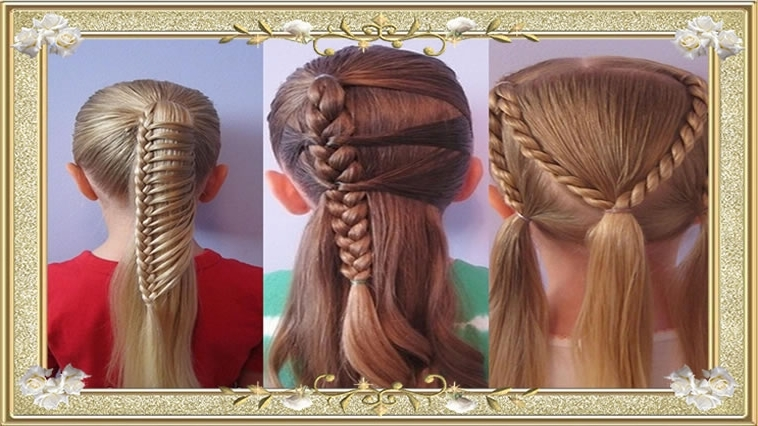 50 Braided Hairstyles Back To School   Haircuts For Girls – Hairstyles Pertaining To Most Popular Braided Hairstyles For School (View 12 of 15)
