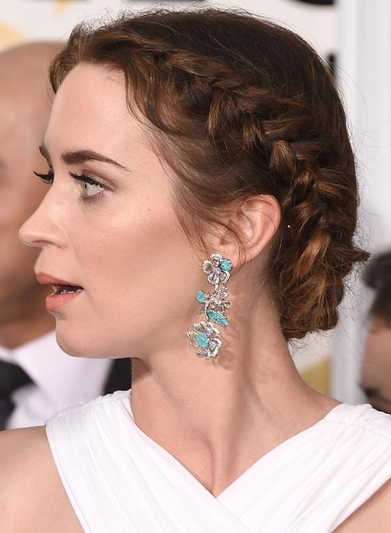 Featured Photo of Braided Hairstyles For Round Face