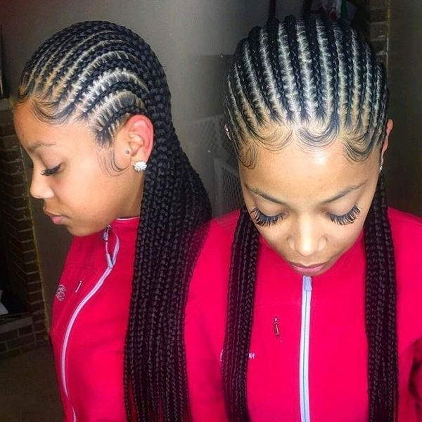 50 Instagram-Approved Protective Hairstyles To Try Immediately for Most Popular Cornrows Hairstyles To The Back