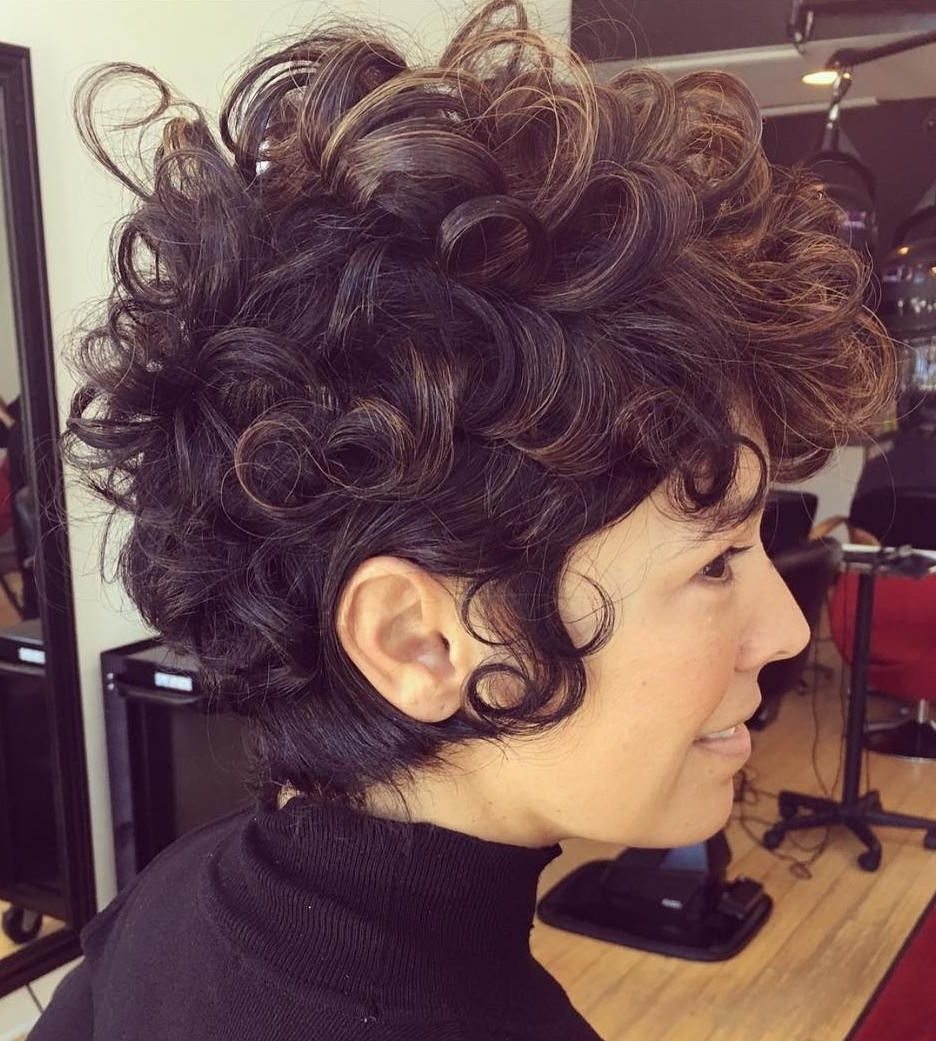 50 Most Delightful Short Wavy Hairstyles | Curly Pixie, Long Curly Pertaining To Most Current Long Curly Pixie Haircuts (View 6 of 15)