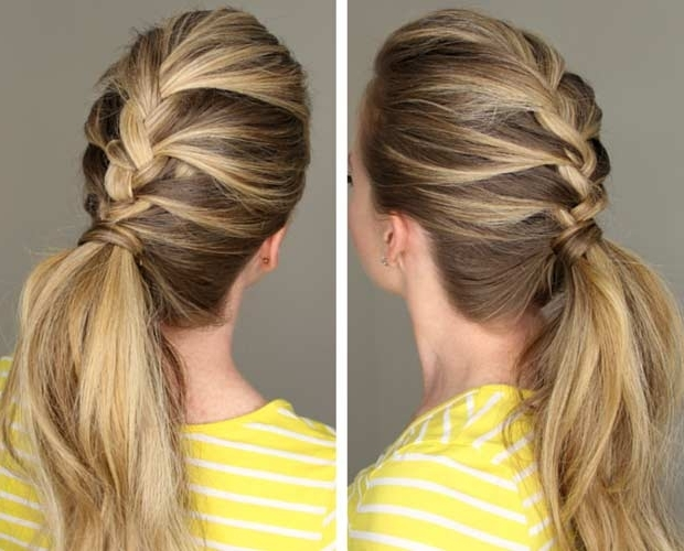 50 Most Popular French Braid Hairstyles For 2015 – Hairstyle Insider Within Latest French Braids Into Pigtails (View 7 of 15)