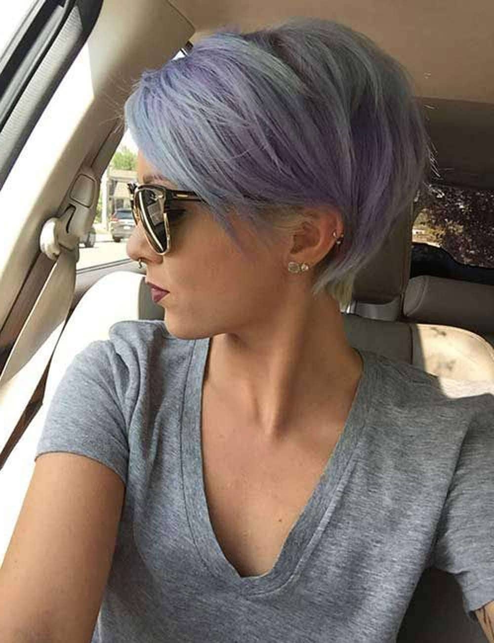 50 Pixie Haircuts You'll See Trending In 2018 With Regard To Latest Tapered Pixie Haircuts With Long Bangs (View 8 of 15)