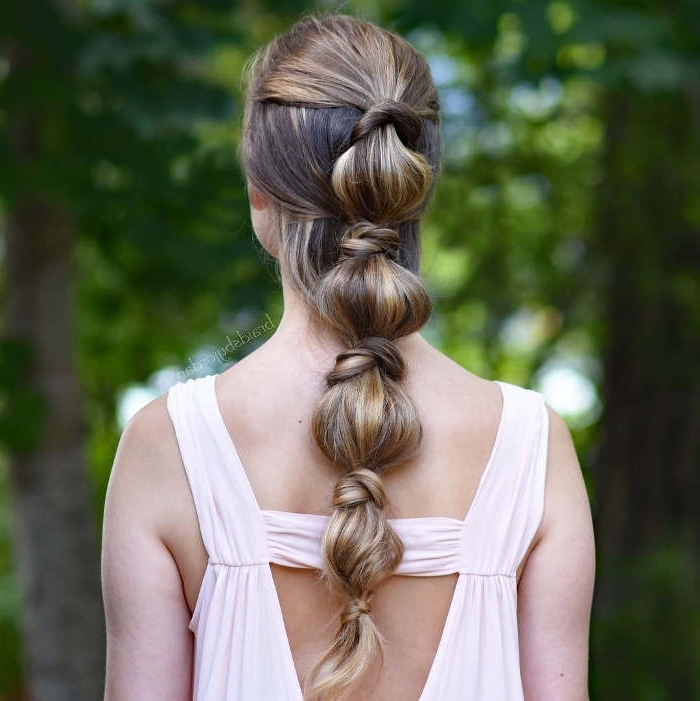 51 Glorious Ponytail Hairstyles For Women And Men – Hairsdos Inside Latest French Braid Hairstyles With Bubbles (View 8 of 15)